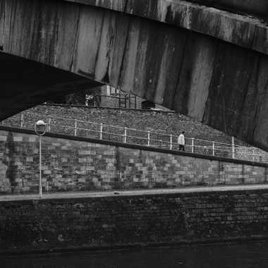 Sous le pont par poncinleonard