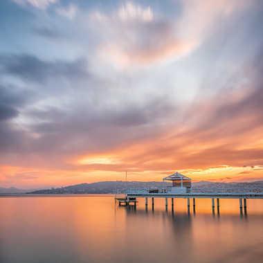 Sunset à Juans les Pins. par Franck06