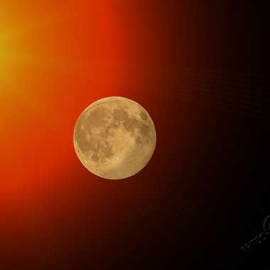 Fantaisie sur la super lune par ChristianF