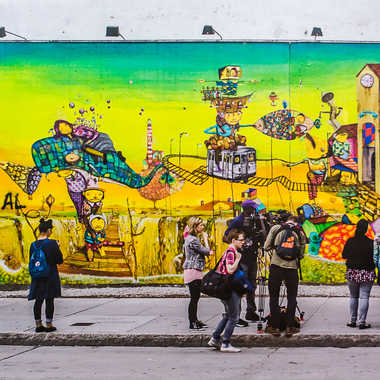 Street art tableau 19 par Basile59