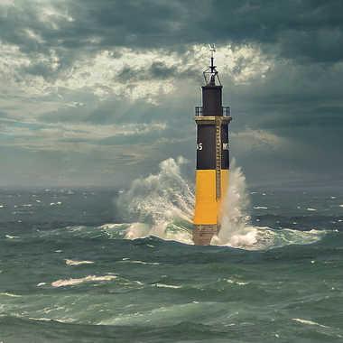 Le phare de Roscoff par Cricriphoto