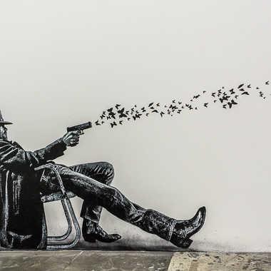Street art tableau 16 par Basile59