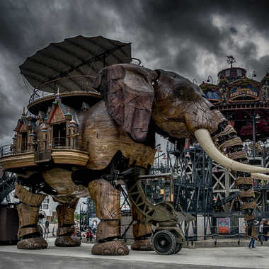 Éléphant mécanique de Nantes par Eric Adde