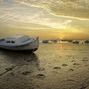 Lever de soleil sur l'Aiguillon par Desmoulin Stephane