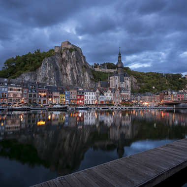Blue Hour in Dinant, Belgium par MHPhotography