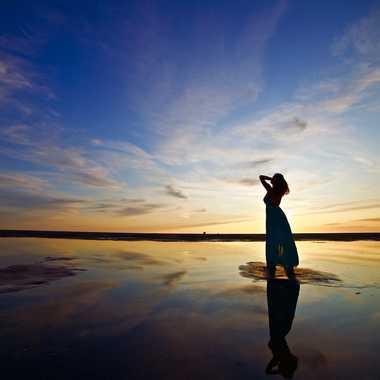 Coucher de soleil sur la côte d'Opale par Julien_Looten