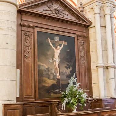 le Christ en croix par tiger59