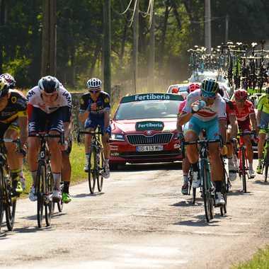 Tour d'Espagne en France par mamichat