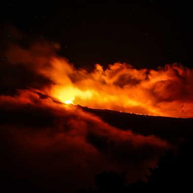 Ciel de feu par photomax974