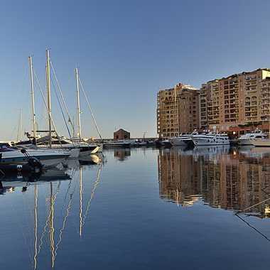 le port de Monaco par krakito