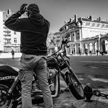 Harley Motors par Buissem