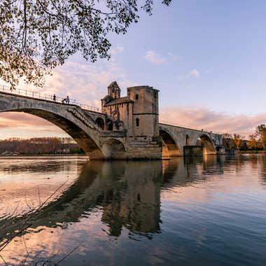 Le Pont St Bénézet en Avignon par ChrisO7