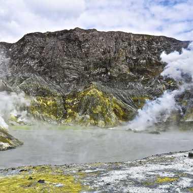 Le volcan sous-marin de l'île White par rmgelpi