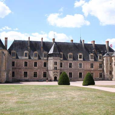 Le château de Lapalisse par Faugere