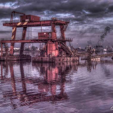 Ambiance du Port du Havre par Eric Adde
