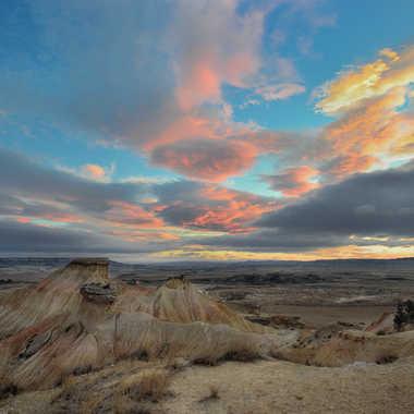 Incendie sur les dunes V II par Colybri