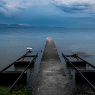 bord de lac par liliplouf