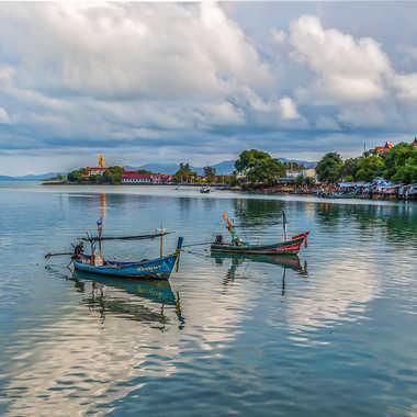 Les barques au repos par Fioenz