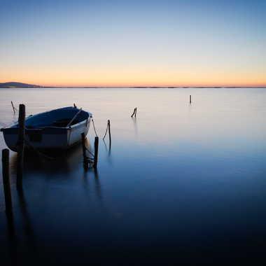 Barque sur Thau par Fredf34