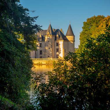 Fin du jour sur le château par Philipounien