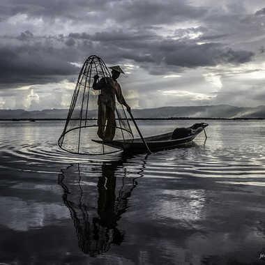 Le pêcheur par Jeananne