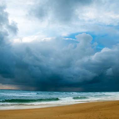 Pluie sur l'océan par sylmorg