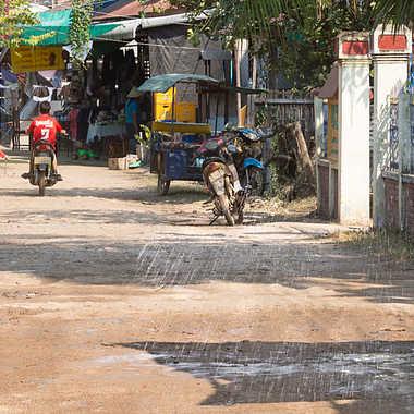 Scène de vie au village par patrick69220