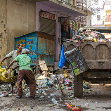 Le ramassage des déchets en Inde par HeleneA