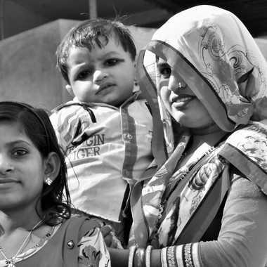 Famille Indienne par patrick69220