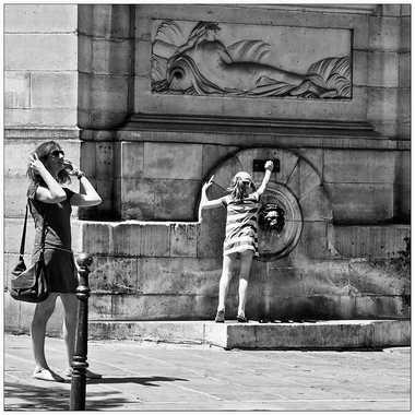 La fontaine de rue par Isabellefalconnet