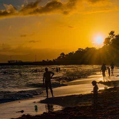 La plage de Gosier par Louis78
