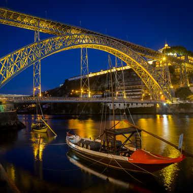 Porto la nuit par leker
