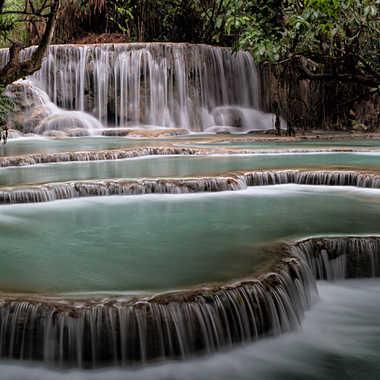 Piscine naturelle au Laos par patrick69220