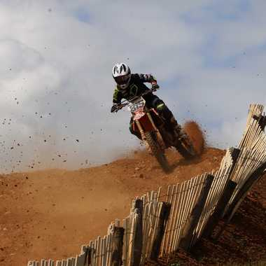 Championnat de France national mx1 par Nathan Gomes