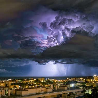 L'orage s' éloigne par Michel06