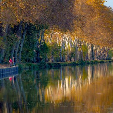 Derniers rayons sur la Garonne par Philipounien