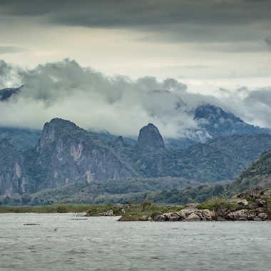 Le Mékong dans le nord Laos par patrick69220