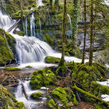 Cascade du Val par Valérie Tirard