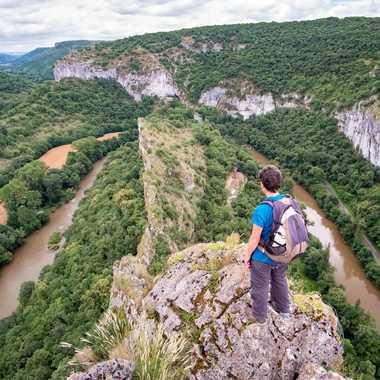 En équilibre sur l'Aveyron par Bernard_MZB