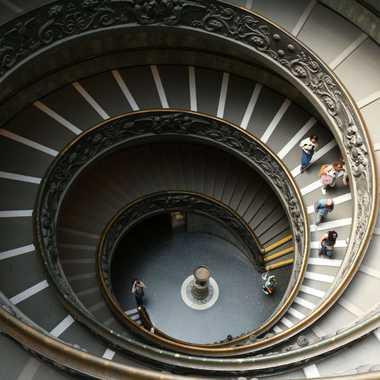 Escalier elliptique du Vatican  par Gonzo