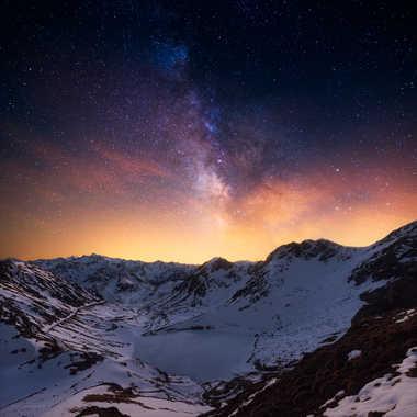 Lac d'Oncet et voie lactée par Photo_amateur78