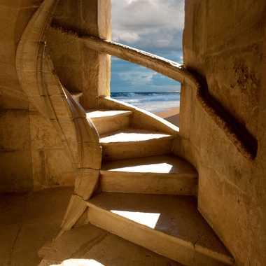 L'escalier du templier  par Slowdef@gmail.com