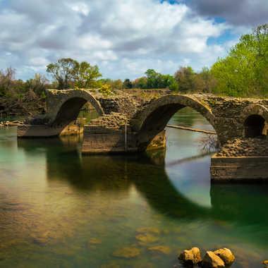 Pont Romain sur l'hérault par Dav.sv