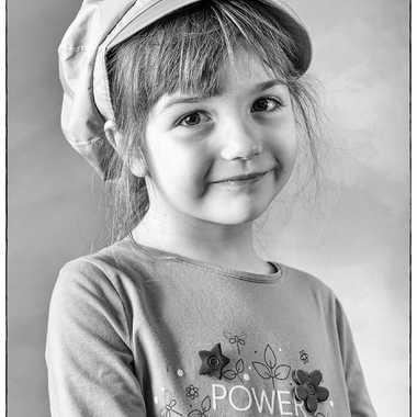 Petite fille par Papyone