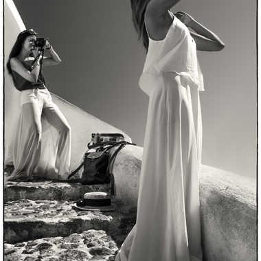 Santorin  par Jalicot Francois