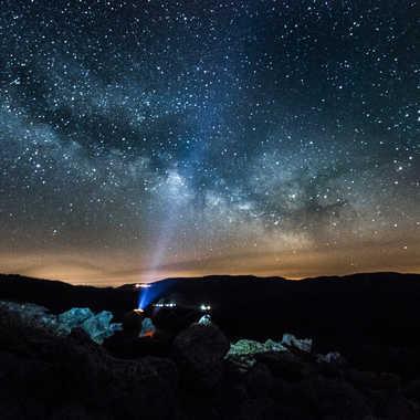 Éclairer la voie lactée par Dav.sv