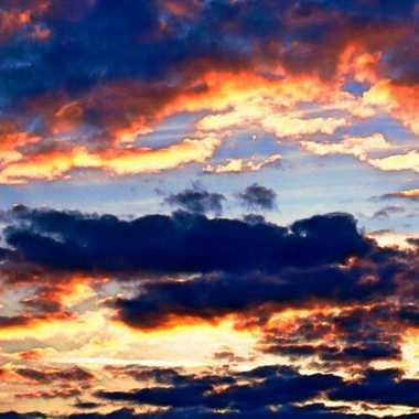 coucher de soleil sans les flammes par brj01