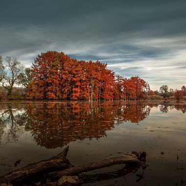 Soir d automne  par brj01