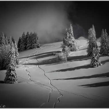 Rando à ski dans le Jura par Patou_Chalancon