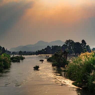 Le Mékong au sud Laos par patrick69220